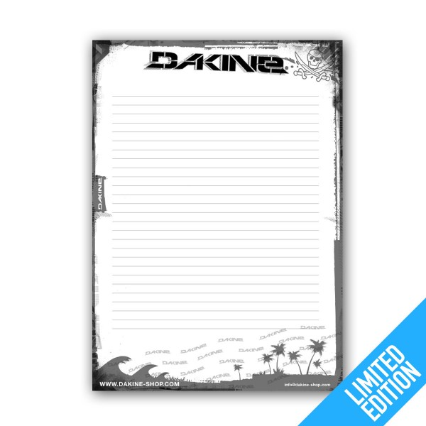 Dakine Beach Notepad