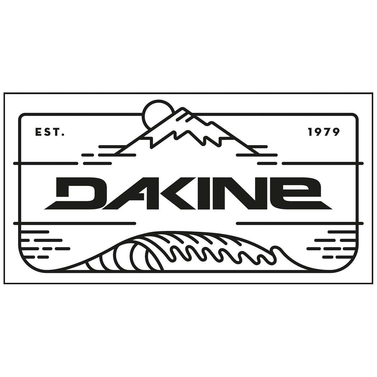 Dakine Mountain Wave Aufkleber Black | Dakine Shop