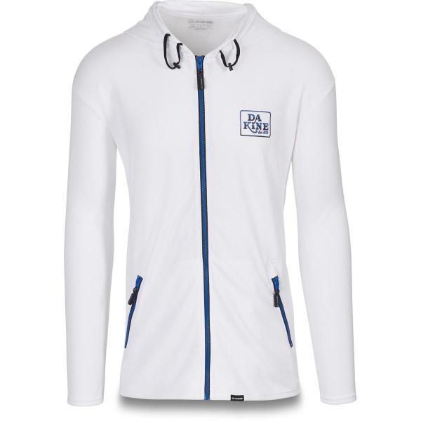 Dakine Inlet Loose Fit Front Zip Hoodie L/S Lycra White