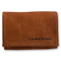 0ffa10b4031f4 Dakine Leather Wallet Brown