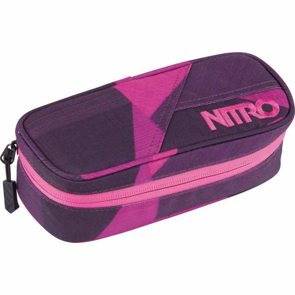 Nitro Pencil Case Trousse Fragments Purple