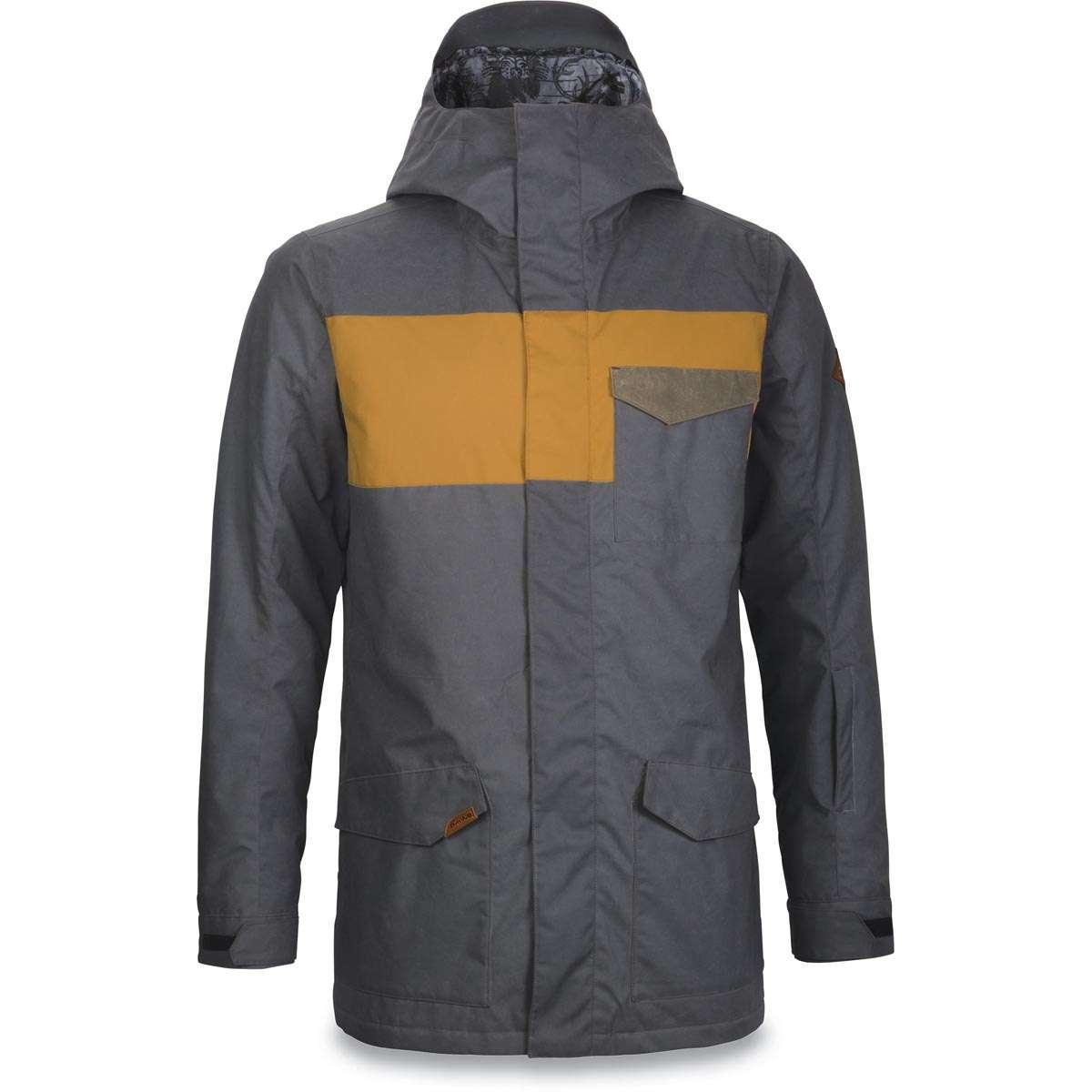 Tarmac Veste Elsman Ski Jacket Black Buckskin Snow Dakine 0q0wrFTA