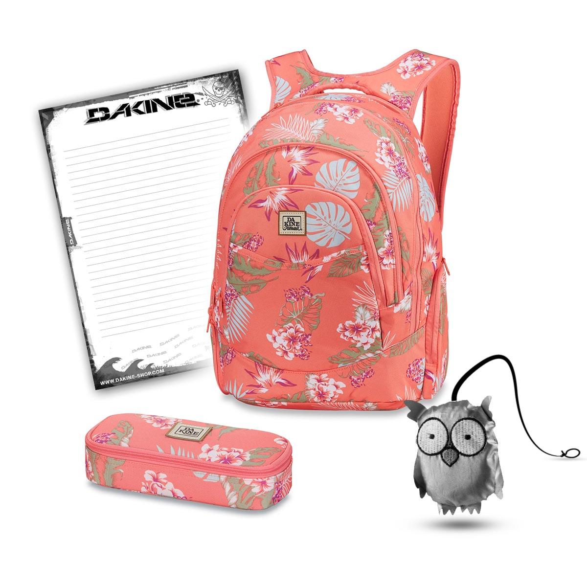 a41649ce147a5 Dakine Prom 25L + School Case + Emma + Bloc Set d Ecole Waikiki ...
